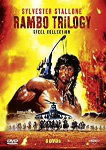 Rambo Trilogy - Steel Collection (Uncut) [6 DVDs]