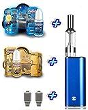 Premium Geschenkset iStick blau Starterset E-Zigarette I Stick Elektro Zigarette Komplettset SC Liquid von American Stars ohne Nikotin