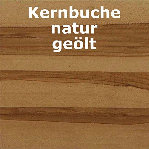 Wohnwand 'Wien' Kernbuche geölt - 2