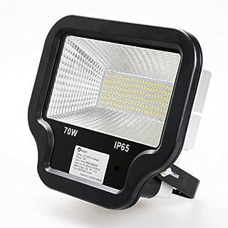 Anten® Hochwertig 70W LED Außenstrahler Fluter Flutlicht IP65 5600LM 6000-6500K Weiß SMD2535 2 Jahre Garantie