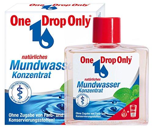 One Drop Only Natürliches Mundwasser Konzentrat, 3er Pack(3 x 25 ml) -