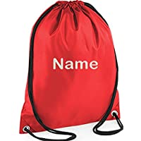 EMBROIDERED Personalised Drawstring GYM Bag, Any Name,