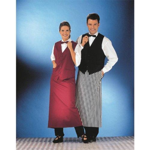 Leiber Berufsbekleidung Gastronomie Weste Damen & Herren L Bordeaux L (Herren: 52/54 - Damen: 44/46),Bordeaux