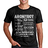 Photo de T-Shirt for Architecte Funny Warning Architecte Tee Homme's Shirt Cadeau Architecte par Awesome Architect T-shirts