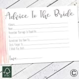 Hen Party 10 Advice To The Bride Cards Games Team Bride Hen Party Accessories