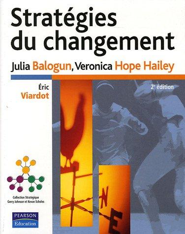 Stratégies du changement par Julia Balogun