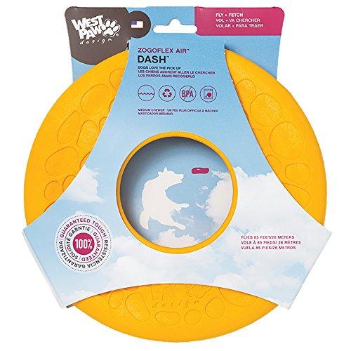 west-paw-zogoflex-air-dash-frisbee-dog-toy-dandelion