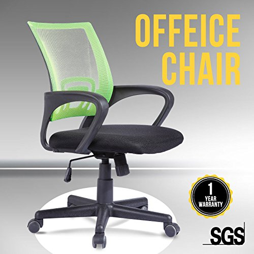 uenjoy-office-chair-swivel-computer-chair-nylon-mesh-office-furniture-stylish-green