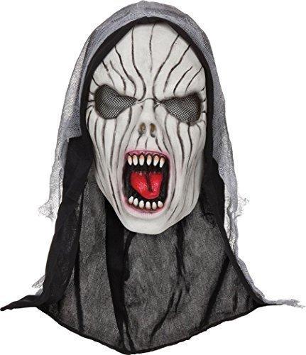 Kostüm Horror Party Accessoire Unheimlich Party Gesichtsmaske - Kreischender Banshee, One size (Banshee Kostüm Halloween)