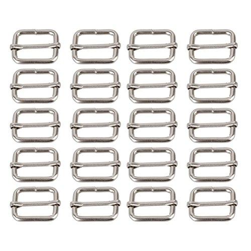 pixnor-metal-sliding-bar-tri-glides-wire-formed-roller-pin-buckles-slider-25mm-strap-adjuster-pack-o