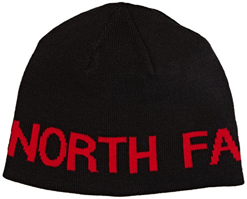 The North Face Herren Mütze Reversible Banner Beanie black/red Reversible Beanie Damen