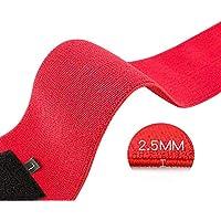 Breeezie Professional Unisex Wrist Straps Support Braces Belt Protector con 2.5 & amp; quot; Bucles de Pulgar para Levantamiento de Pesas Culturismo Entrenamiento de Fuerza de Levantamiento de Pesas