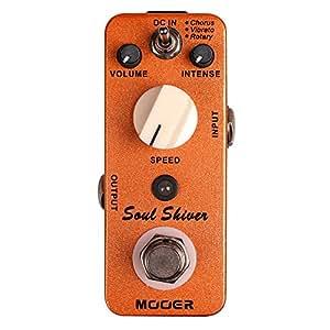 Mooer Soul Shiver Pédale Univibe 3 modes: chorus vibrato rotary