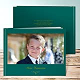 Fotoalben Kommunion, Herrlich 28 Seiten, Hardcover 290x222 mm personalisierbar, Grün