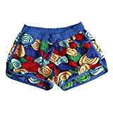 ZEVONDA Herren und Frauen Beachshorts Shorts Im Freien Quick-Dry Multicolor Swim Shorts,Stil 4 (für Frauen),EU L=Tag XL