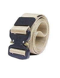 ZHYAODAI Combate del Ejército De Liberación Rápida Correas Correa Táctica Moda  Hombres Lienzo Cintura Outdoor Caza bf10fe562e5c