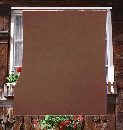 tenda-da-sole-in-tessuto-resistente-cm-140x250-100-poliestere-con-anelli-dis-5-marrone