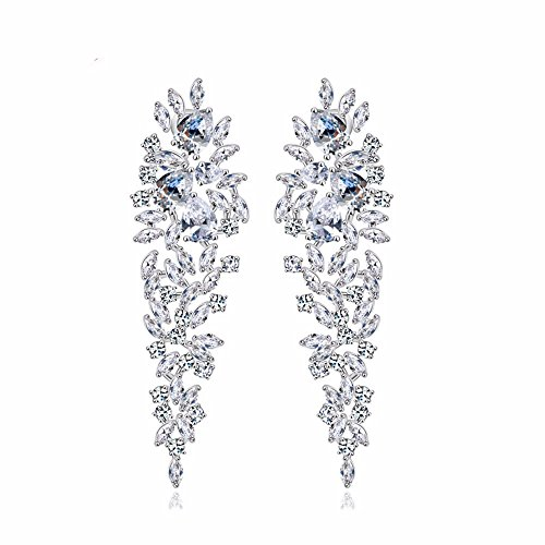 gulicx-shinning-cubic-zironia-art-deco-leaves-drop-chandelier-dangle-wedding-earrings-for-brides-sil