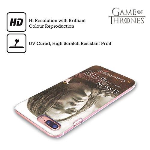 Ufficiale HBO Game Of Thrones Jon Snow Ritratti Dei Personaggi Cover Retro Rigida per Apple iPhone X Arya Stark