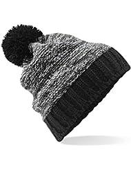 Beechfield - Bonnet tricoté avec pompon - Adulte unisexe