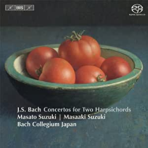 Bach: Concertos for Two Ha