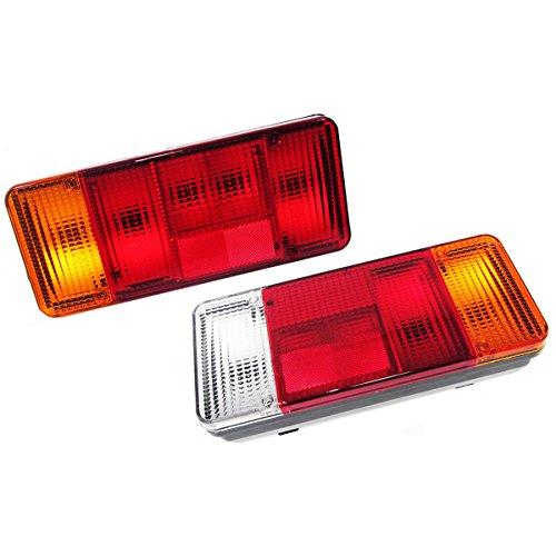 2df6de50cf244 2 x 12 V 24 V camiones coche coche chasis colgante faros traseros luz  trasera