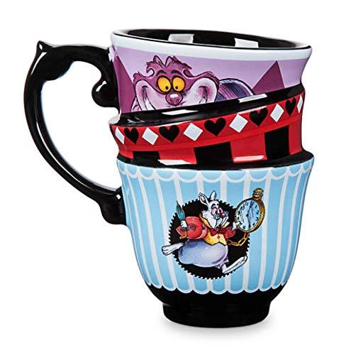 Mugs Alice in Wonderland Stacked