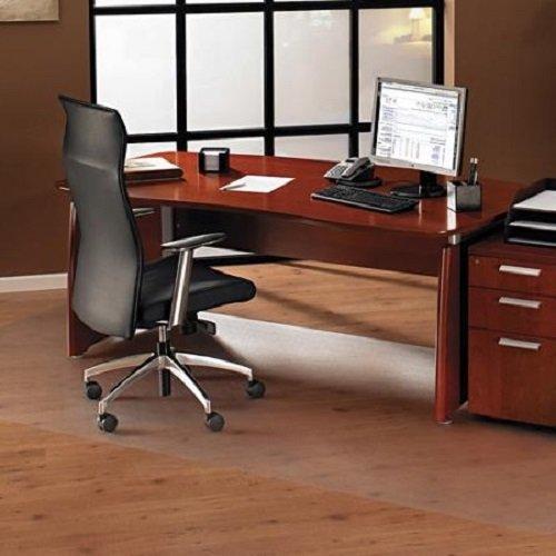 100x180 cm Bürostuhlunterlage gegen Kratzer und Flecken, Schutz Folie halb transparent