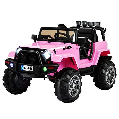 Uenjoy Ride on Car 12V Battery Power Voitures électriques pour Enfants Voitures motorisées pour Enfants