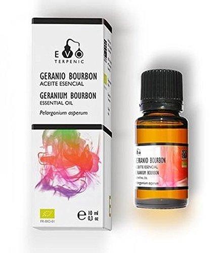 Geranio Bourbon Aceite Esencial Bio 10 ml