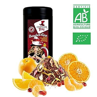 Rooibos canneberge orange mandarine bio – Boite 100g vrac – ? Certifié Agriculture biologique ?