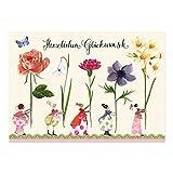 10er Set Postkarten zum Geburtstag von Silke Leffler
