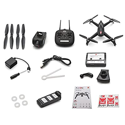WIFI FPV Version MJX Bugs 5W Drone with HD Camera For Beginners Training Quadcopter With Headless Mode One Key Return (Bugs 5W WIFI FPV VERSION)