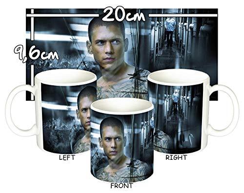 Prison Break Wentworth Miller Taza Mug