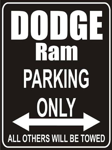 Indigos UG - Parking Lot sign 32x24 cm black