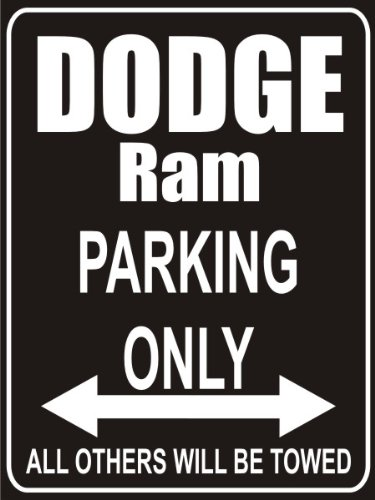 pema-parkplatz-parking-only-dodge-ram-parkplatzschild