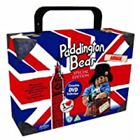 Paddington Suitcase Complete Special Union Jack Edition DVD Collection