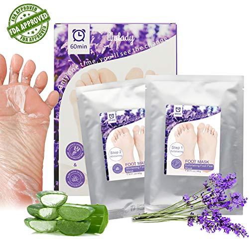 Fuss Peeling Maske 2 Paar Fußmaske Exfoliating Socken Hornhaut Schwielen und abgestorbene Haut Entferner Baby Füße Innerhalb von 3-7 Tagen