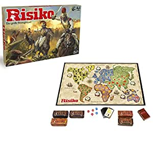 Hasbro Spiele B7404100 – Risiko – Edition 2016, Strategiespiel