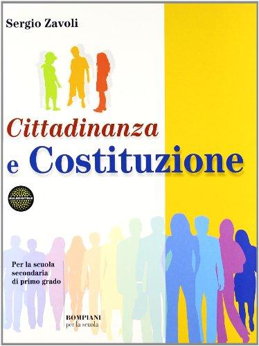 Cittadinanza e Costituzione. Per la Scuola media