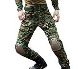 Brinny Combat Militaires Camouflage Frog pantalon Développement d'extérieur pantalon d'entraînement pour hommes Noir Python - 34