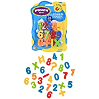 Wowow Toys & Games Magnetic Numbers Letters Alphabet Fridge Magnets | Educational Preschool Learning Set
