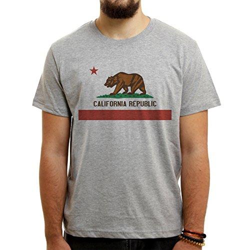 California Logo Republic Medium Uomini T-Shirt