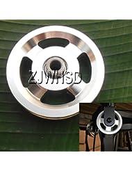 Universal 93mm aluminio rodamientos rueda de polea para gimnasio Fitness ejercicio equipo de repuesto Abbott
