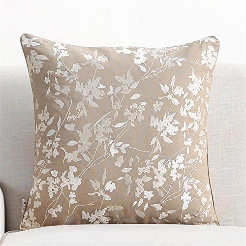 Cuscino del cuscino ricamo Fiori di cotone Federe con anima