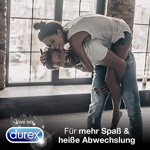 Durex Fun Explosion Kondome, aufregende Vielfalt für mehr Spaß, 40er Großpack (1 x 40 Stück) - 4