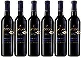 Antaño Crianza D.O Rioja Vino Tinto - 6 Botellas x 750 ml - Total: 4500ml