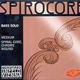 CUERDA CONTRABAJO - Thomastik (Spirocore Solista/S38S) (Acero/Aluminio) 3ª Medium Bass 4/4 H (Si)