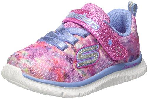 Skechers Baby Mädchen Skech Lite-Blossom Cutie Sneaker, Mehrfarbig (Pink/multicolour), 21 EU (4 UK) -