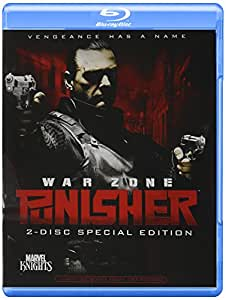 Punisher 2: War Zone  [2008] [US Import] [Blu-ray] [Region A]